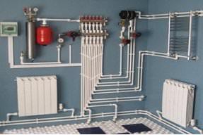 Ремонт и монтаж систем отопления
